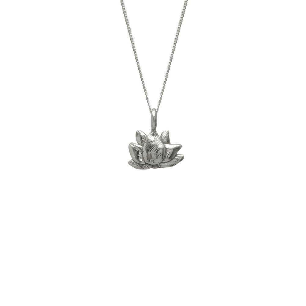 Image of Lotus Necklace 3D Small