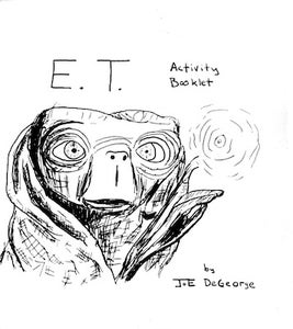 Image of E.T. Activity Booklet