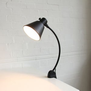 Image of Bauhaus style clamp light