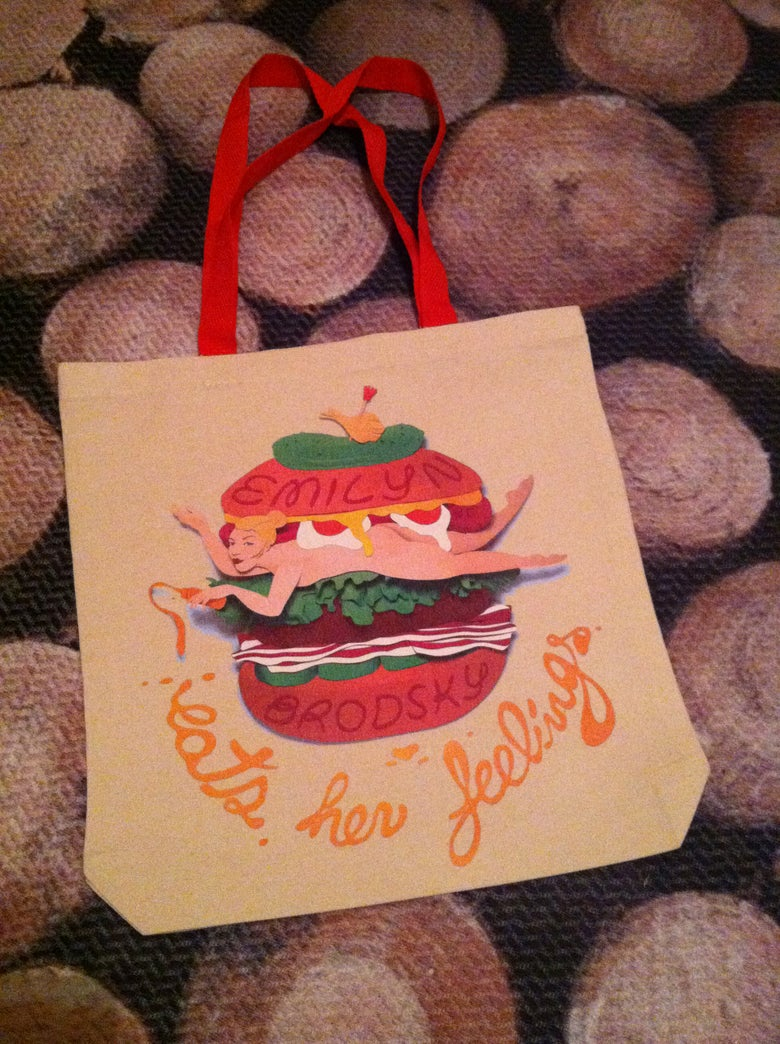 Image of EMILYN BURGER TOTE