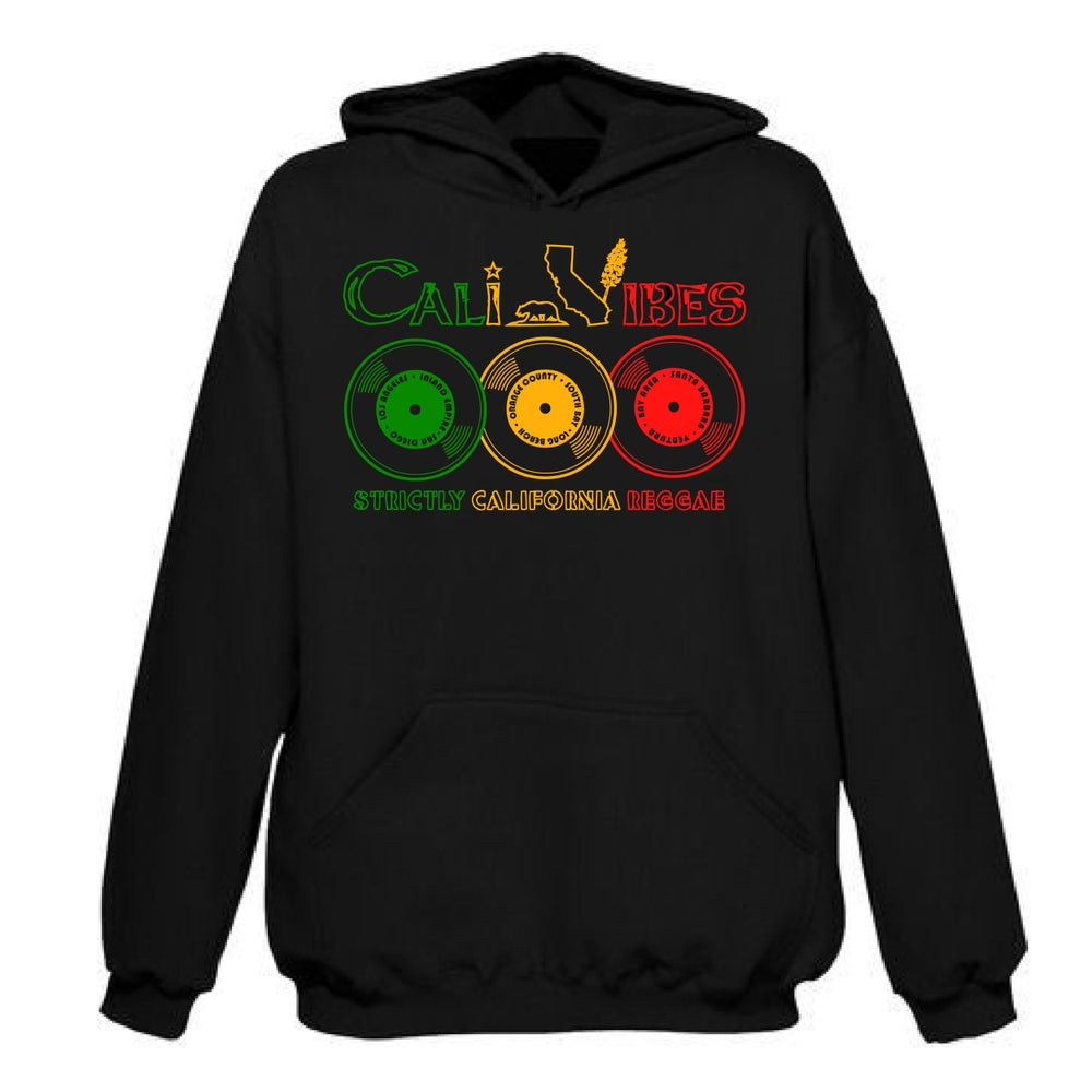 Image of STRICTLY CALIFORNIA REGGAE HOODIE 50% OFF SALE!!