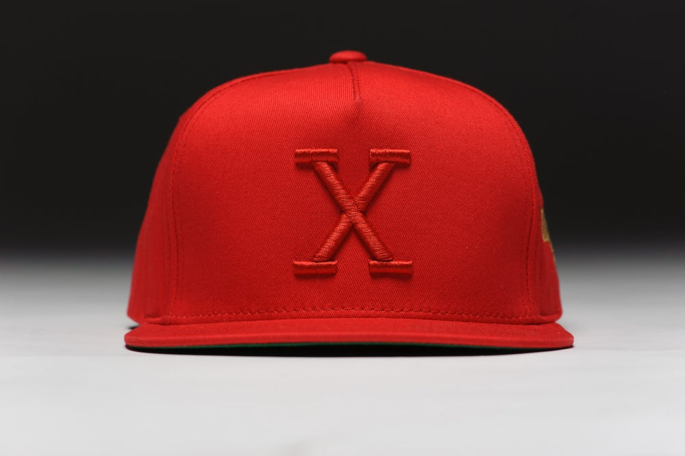Image of X Retro Tonal - Red/Red