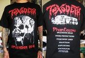 "Image of TOXODETH ""Splendor Dead"" Oficial Shirts."