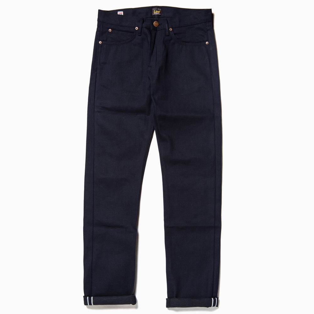 "Image of LEE 101Z ""Service Blue"" Jeans - LEAN STRAIGHT"