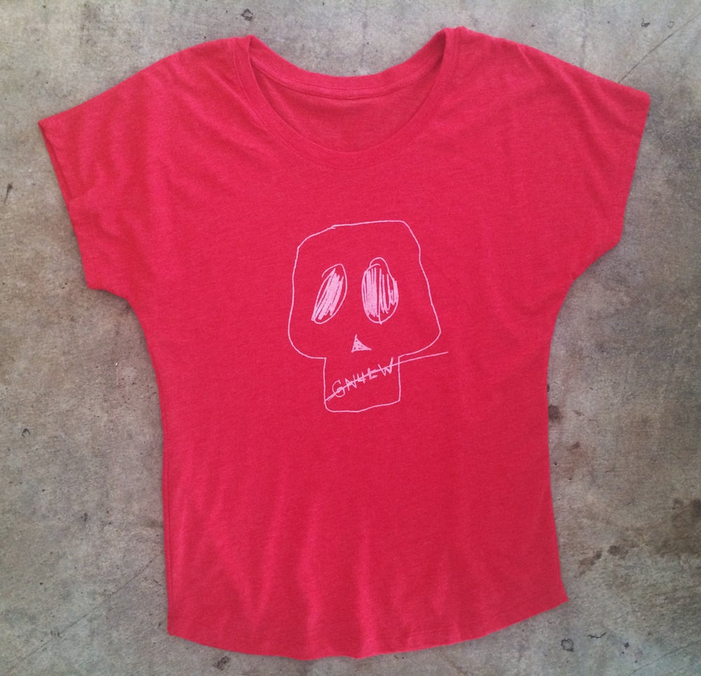 Image of  GN4LW Skull Tee