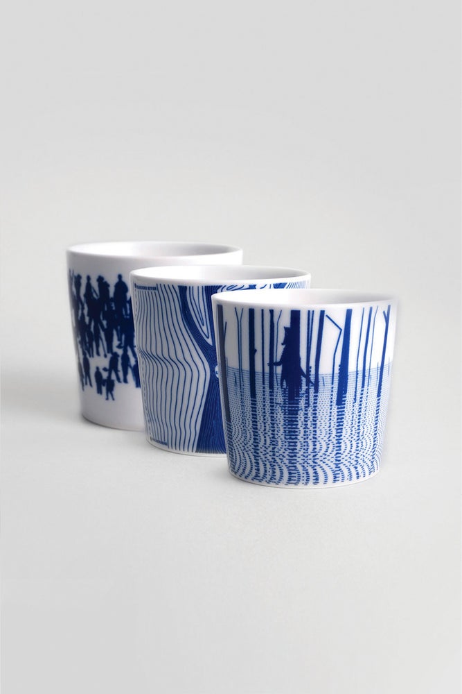 Image of Australian Collection - Porcelain cup set