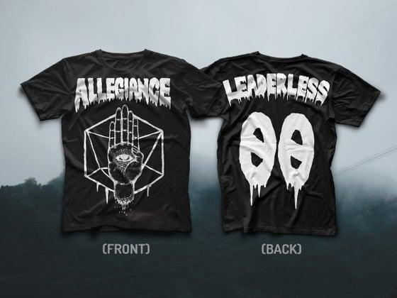 "Image of ALLEGIANCE ""LEADERLESS"" TEE"