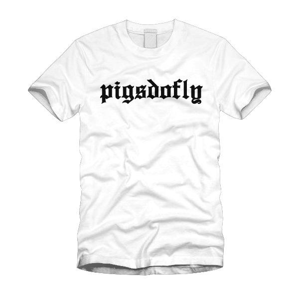 "Image of ""PIGSDOFLY OE"" WHITE/TEE"