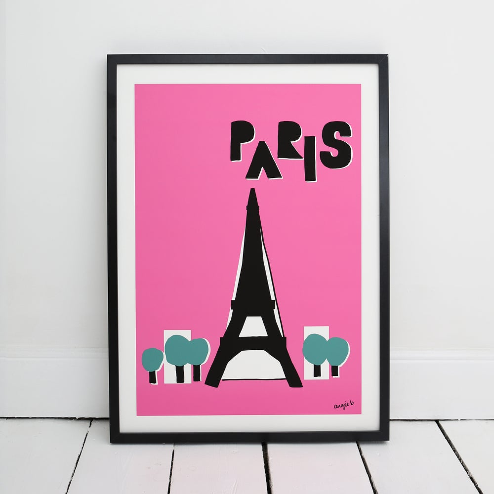 Image of Paris print