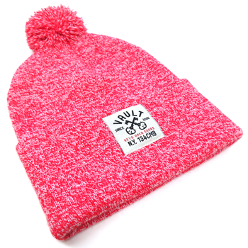 Image of Keys Open Doors Pom-Pom Beanie (Red)