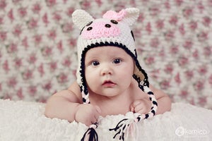 Image of Lil Cow Hat PDF Pattern