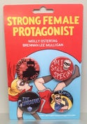 Image of Strong Female Protagonist Button Pack