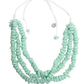 Image of Eb&Ive Bahama Layered Necklace (Mint)
