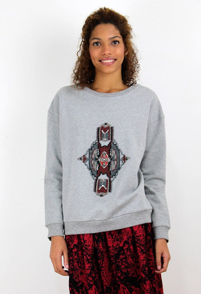 Image of AZTEC SWEATSHIRT