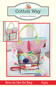 Image of Sew on the Go Bag Paper Pattern #975