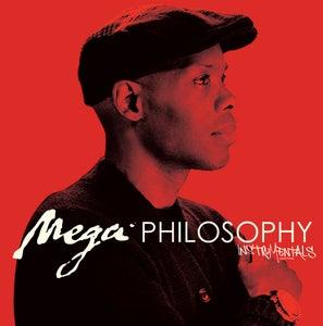 "Image of Cormega ""Mega Philosophy"" Instrumentals LP (colored vinyl - limited 300 pieces) ON SALE!"