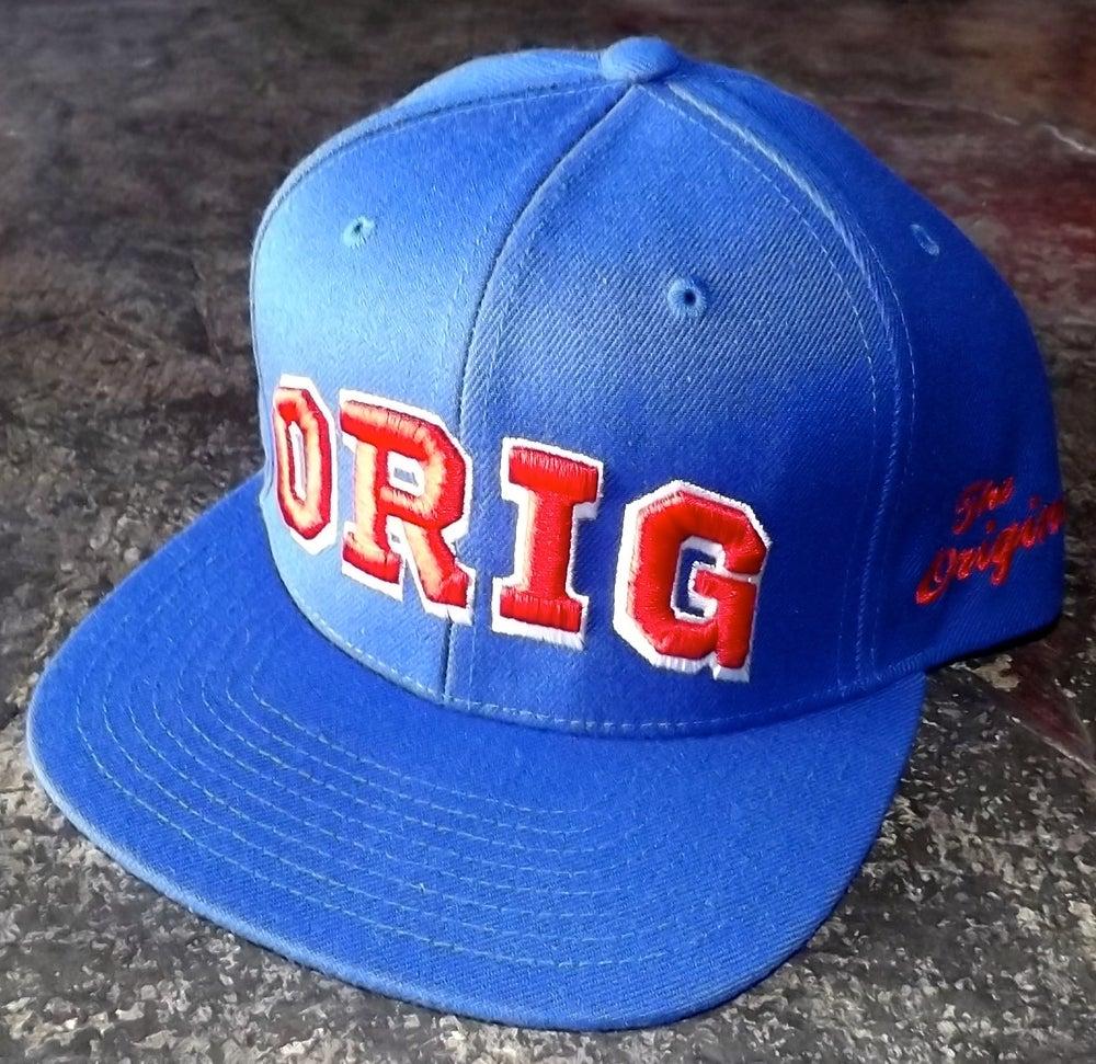 Image of OG 'VARS' SNAP-BACK (ROYAL BLUE)