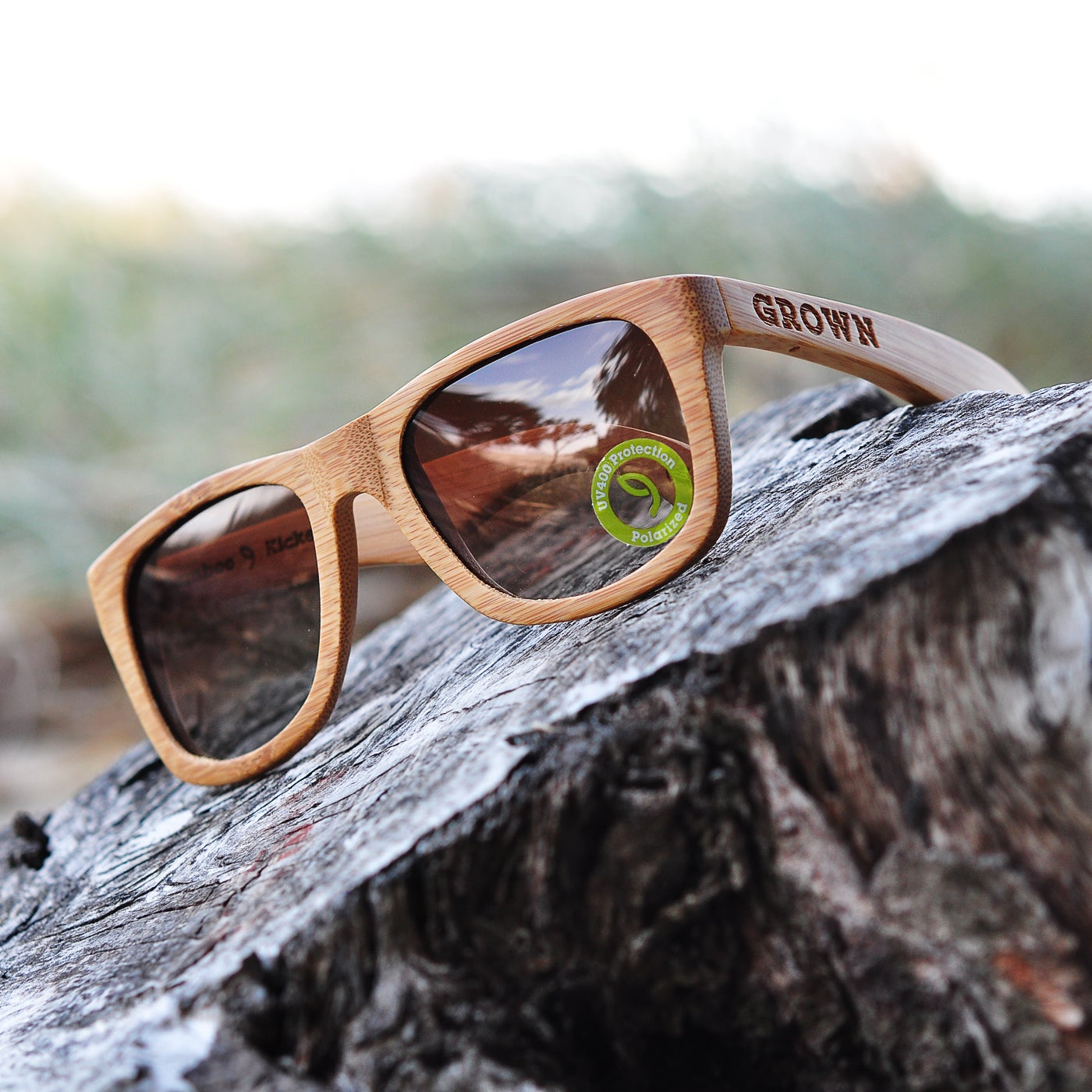 grown 174 sustainable bamboo wood sunglasses official
