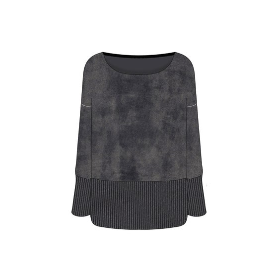Image of Onagre - le pull velours - lady