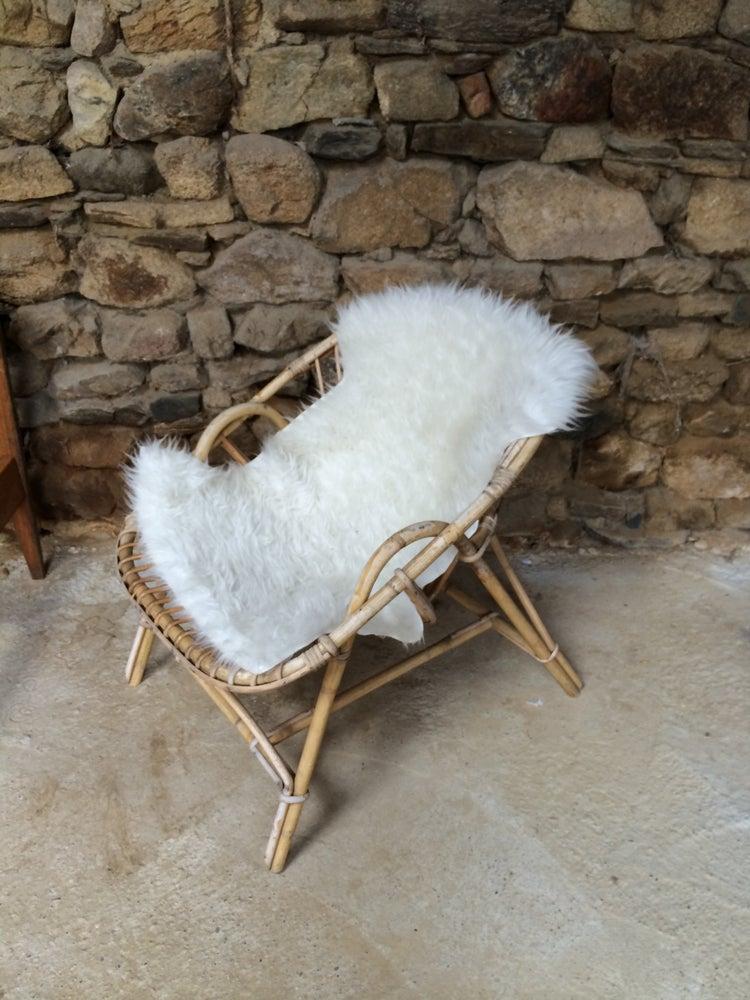 Image of DOUILLET fauteuil en rotin adulte