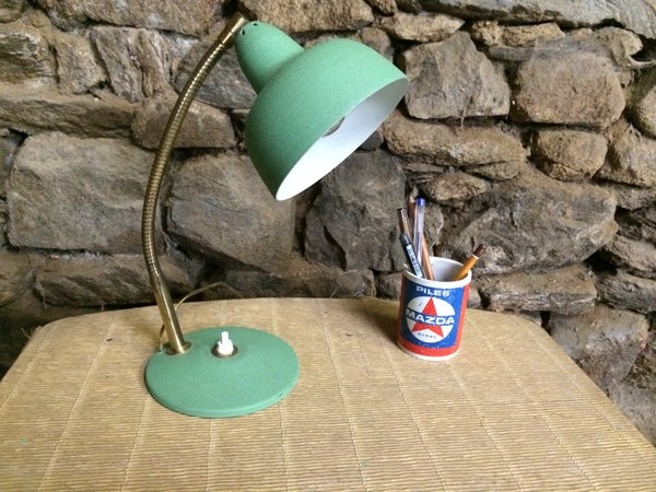 Image of APPLE ampe de bureau cocotte vert pomme