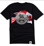 Image of Dub Police 2013 North Americian Tour T-Shirt (Limited Edition)