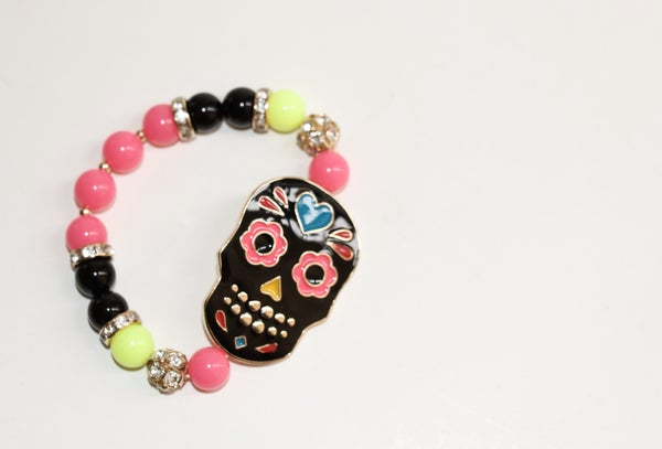 Image of Day of the Dead Bracelets