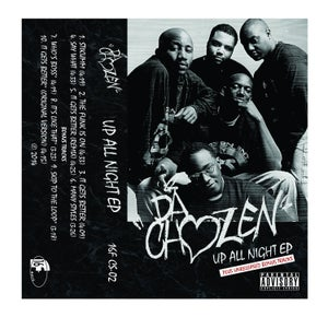 "Image of DA CHOZEN ""UP ALL NIGHT"" EP CASSETTE with Bonus Tracks"