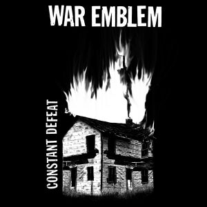 Image of WAR EMBLEM - constant defeat LP (white vinyl)