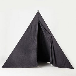 Image of CHARCOAL STONEWASH BEACH TIPI