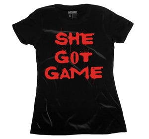 "Image of LIKE MIKE ""SHE GOT GAME"" Infrared / Black"
