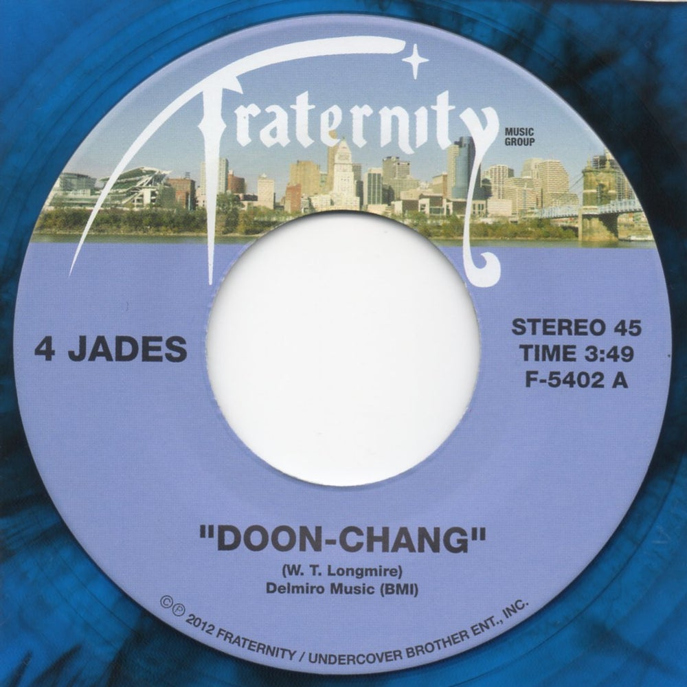 """Image of Doon Chang / Gee How I Miss You - 7"""" Blue Vinyl"""