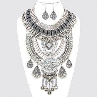 Image of Cleopatra Bib Necklace