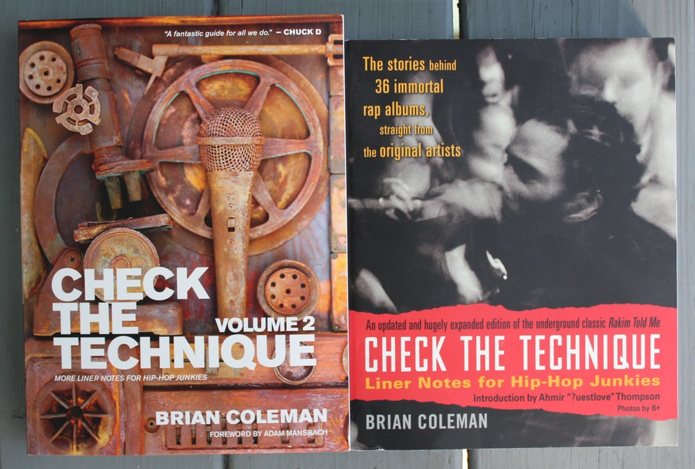 "Image of 2 BOOK BUNDLE - ""Check the Technique"" Volumes 1 & 2"