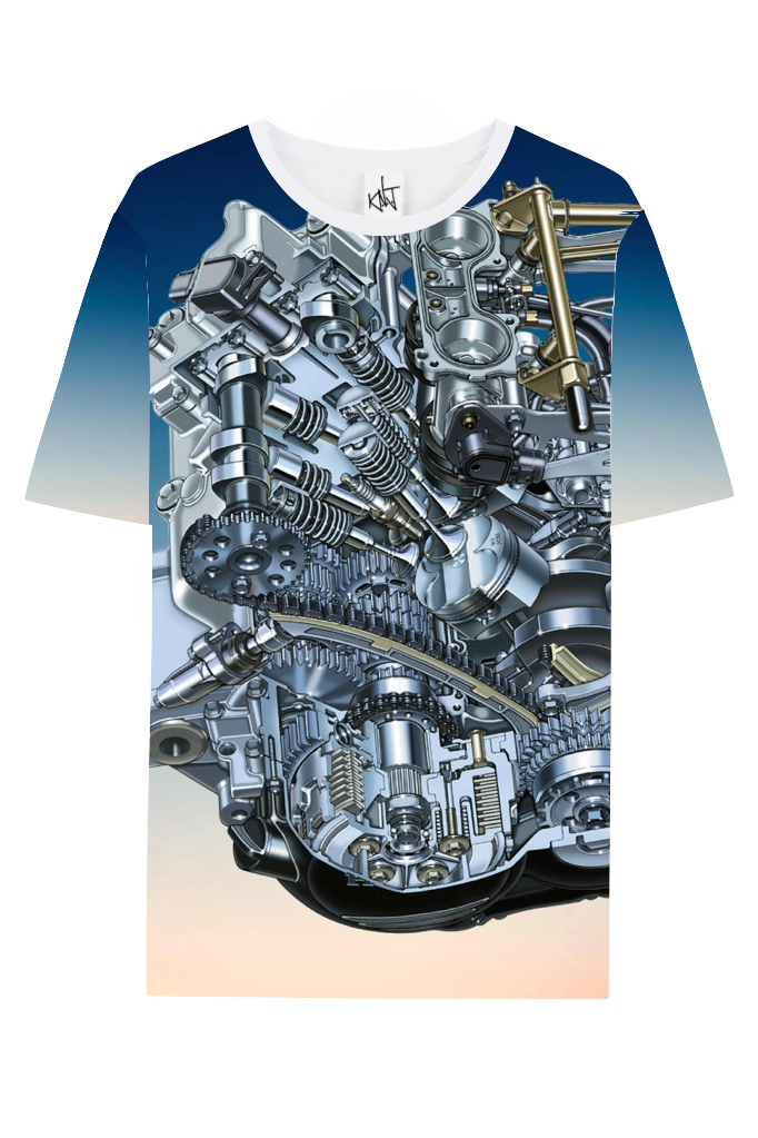 Image of Neoprene Engine Tee