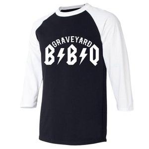 "Image of Graveyard BBQ ""Road"" Logo JERSEY"