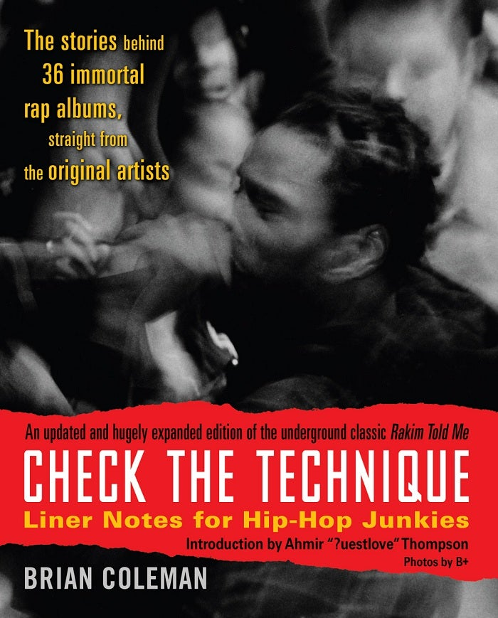 "Image of ""Check the Technique Volume 1"" Hip-Hop book (2007) - SIGNED by author"