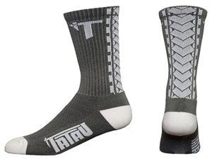 Image of TS-01 Charcoal/White Socks