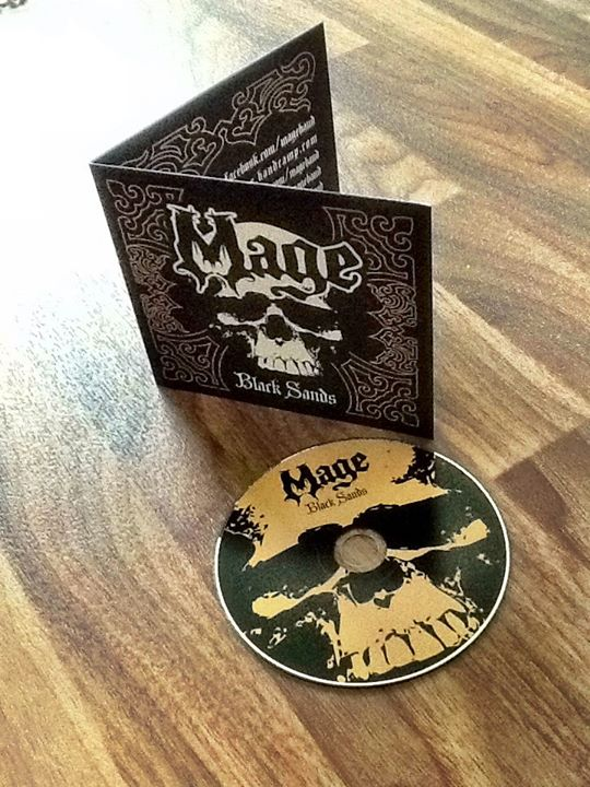 Image of Mage - Black Sands CD