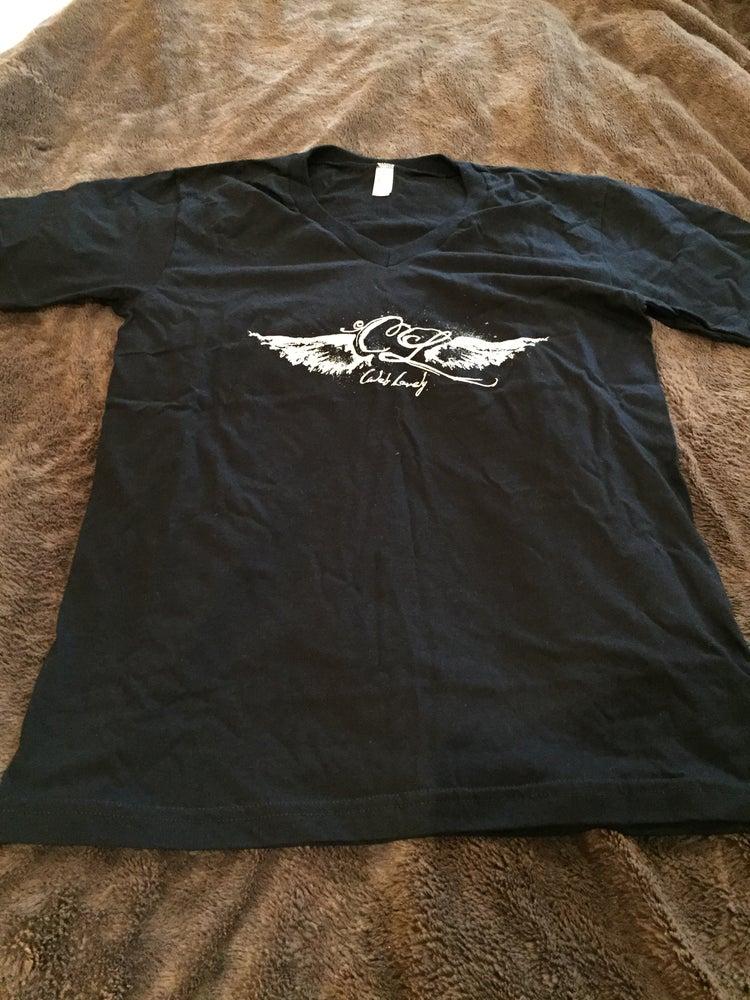 Image of Caleb Lovely Wings Back V-Neck