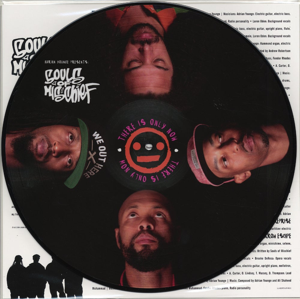 Image of SOULS OF MISCHIEF-THERE IS ONLY NOW (PICTURE DISC)