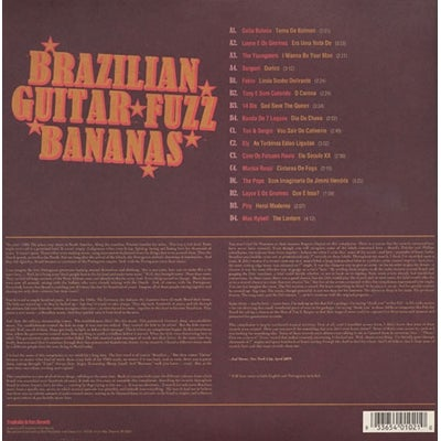 Image of VARIOUS ARTISTS-BRAZILIAN GUITAR FUZZ BANANAS