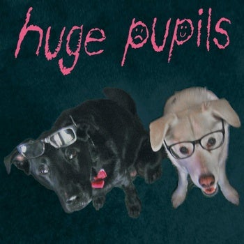"Image of Huge Pupils / Roy Orbitron - Split 12"""