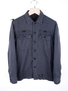 Image of Wtaps - Overdye Cotton Twill Buds L/S Shirt