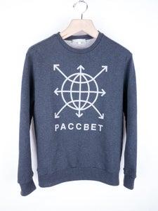 Image of Gosha Rubchinskiy - Paccbet Logo Grey Sweatshirt