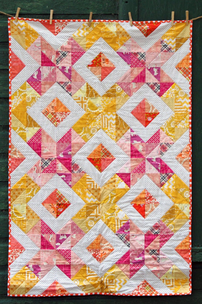 Image of Cross Stitch Sparkle Quilt