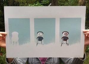 Image of Process Print - Lucky Strike