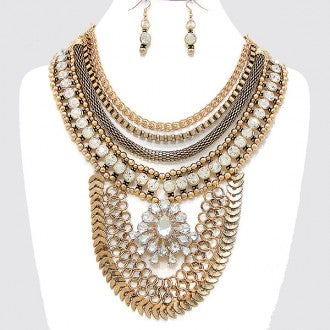 Image of Gypsy Bib Necklace