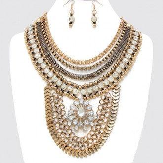 Image of Gypsy Bib Necklace