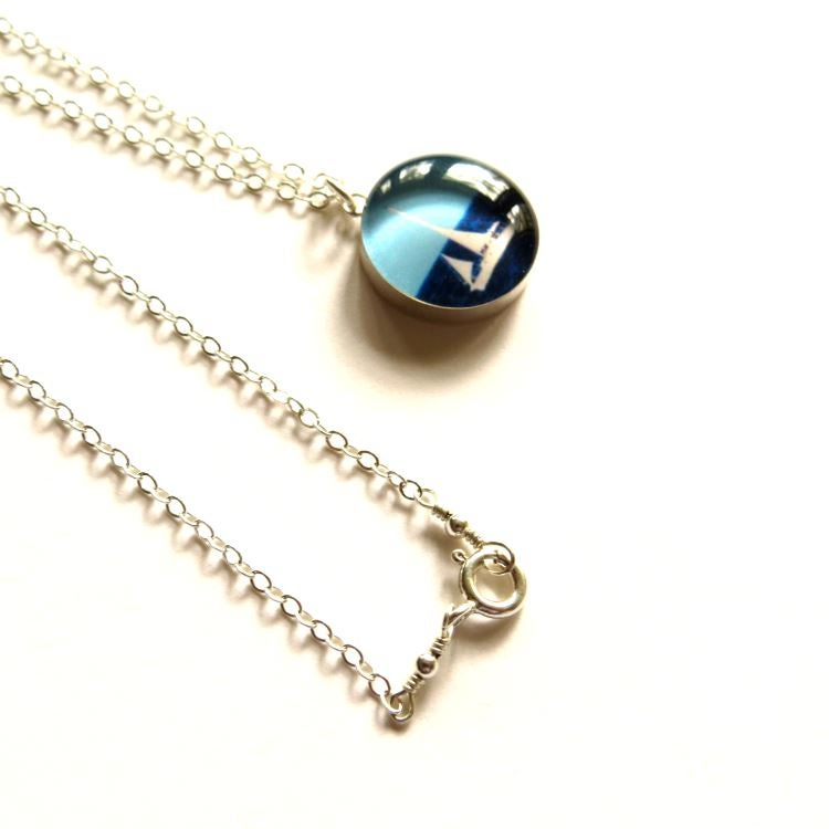 Image of Sailboat necklace
